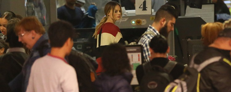 January 10- Margot at LAX